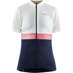 Craft Core Endur Jersey Women, biały/niebieski